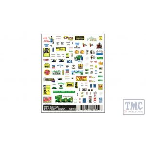 DT570 Woodland Scenics N Scale Mini-Series Product Logos