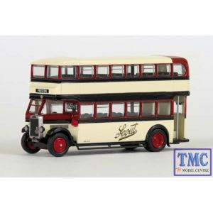 E27314 OO Gauge Leyland TD1 Closed Rear (B) Scout Motor Services Exclusive First Edition (EFE)