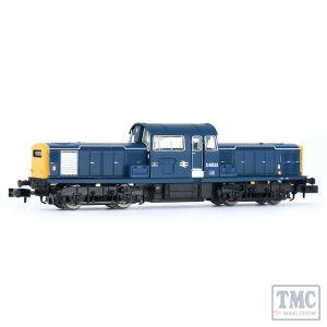 E84506 EFE Rail N Scale Class 17 D8523 BR Blue