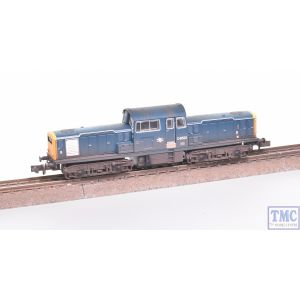 E84506 EFE Rail N Gauge Class 17 D8523 BR Blue Weathered by TMC