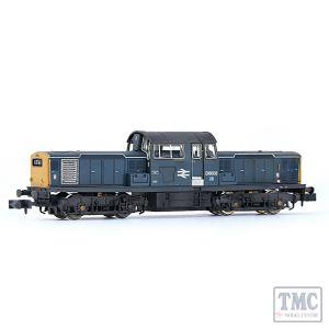 E84510 EFE Rail N Scale Class 17 D8606 BR Blue [W]