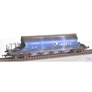 E87000 EFE Rail OO Gauge JIA Nacco Wagon 33-70-0894-007-0 Imerys Blue with Deluxe Weathering by TMC