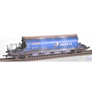 E87001 EFE Rail OO Gauge JIA Nacco Wagon 33-70-0894-008-8 Imerys Blue with Deluxe Weathering by TMC