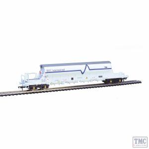 E87029 EFE Rail OO Gauge PBA Tiger Wagon TRL 11630 ECC International White