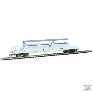 E87030 EFE Rail OO Gauge PBA Tiger Wagon TRL 11625 ECC International White