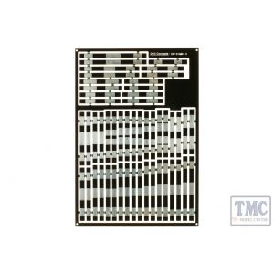 ESP-DIAMD1.0 DCC Concepts Pre-Etched Sleepers 1.0mm (4mm scale) Diamond Crossing