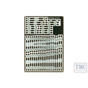 ESP-DIAMD1.6 DCC Concepts Pre-Etched Sleepers 1.6mm (4mm scale) Diamond Crossing