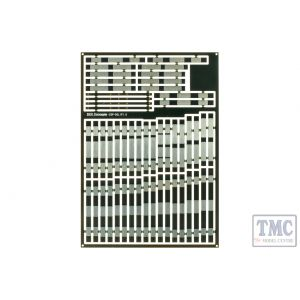 ESP-DSLIP1.0 DCC Concepts Pre-Etched Sleepers 1.0mm (4mm scale) Double Slips
