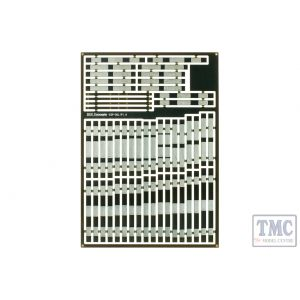 ESP-DSLIP1.6 DCC Concepts Pre-Etched Sleepers 1.6mm (4mm scale) Double Slips