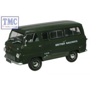FDE002 Oxford Diecast 1:43 Scale British Railways Ford Thames Minibus