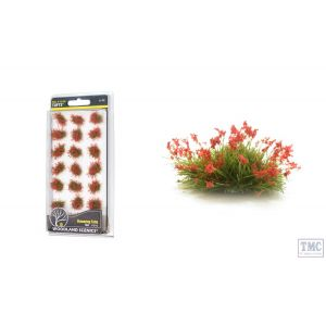 FS773 Woodland Scenics Red Flowering Tufts (21 PC)