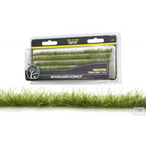 FS780 Woodland Scenics Light Green Edging Strips (4 PC)