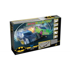 G1170M Scalextric Micro Scalextric Batman vs The Riddler Set Battery Powered Race Set