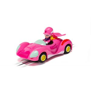 G2166 Scalextric Micro Scalextric - Wacky Races Penelope Pitstop car