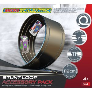 G8046 Scalextric Micro Scalextric Track Stunt Extension Pack - Stunt Loop