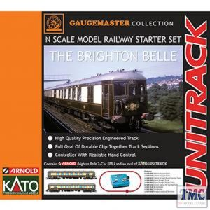 GM2000101 Gaugemaster N Scale Brighton Belle Premium Train Set (Arnold/Kato)