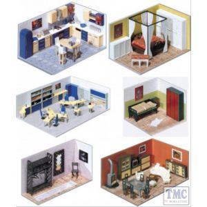 GM490 GM Structures OO Gauge Fordhampton Building Interiors Kit