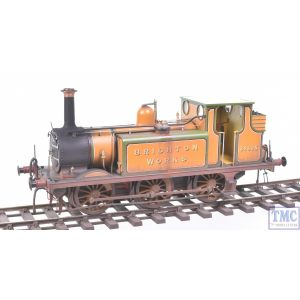 GM7210101 Gaugemaster O Gauge Terrier Brighton Works 32635 with Real Coal & Deluxe Weathering by TMC