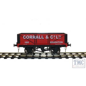 GM7410101 Gaugemaster O Gauge 5 Plank Wagon Corrall & Co Ltd 166 Brighton