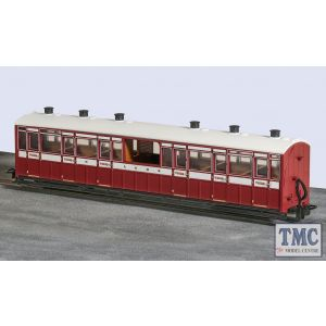 GR-450B Peco OO9 Gauge Centre Observation Coach Lynton and Barnstaple Livery No 10