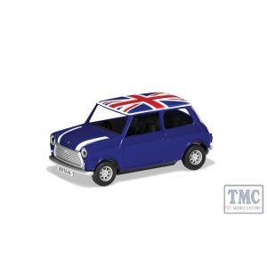 GS82113 Corgi 1:36 Scale Best of British Classic Mini - Blue