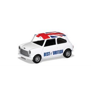 GS82298 Corgi 1:36 Scale Corgi Best of British Classic Mini White