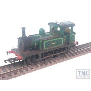 "H4-P-009 Hattons Originals OO Gauge SECR P Class 0-6-0T ""Pioneer II"" in Bowaters Paper Mill Green with Coal & Deluxe Weathering"