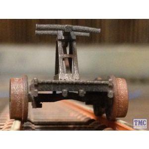 HANDCAR OO/HO Gauge TMC Weathered 3D Printed Hand Car (Pump Wagon)