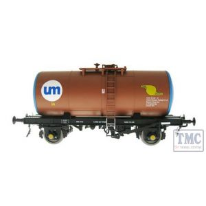 1006 Heljan O Gauge B Tank United Molasses brown
