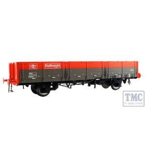 1052 Heljan O Gauge  OAA open in Railfreight red/grey