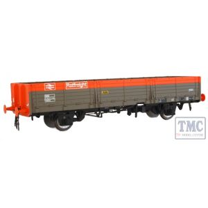 1053 Heljan O Gauge  OAA open in Railfreight ABN red/grey