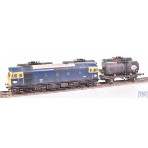 1099 Heljan OO Gauge Fawley Tank Pack BR Blue with Extra Detail Weathering by TMC