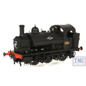 1304 Heljan OO/HO Gauge Class 1361 0-6-0ST 1363 BR Black Late Crest