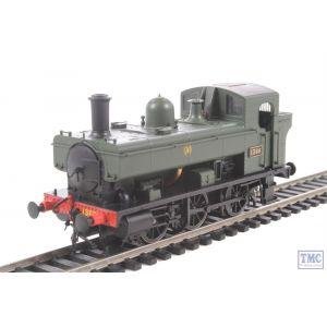 1320 Heljan OO/HO Gauge Class 1366 0-6-0PT 1366 GWR Green Shirtbutton