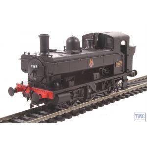 1323 Heljan OO/HO Gauge Class 1366 0-6-0PT 1367 BR Black Early Crest