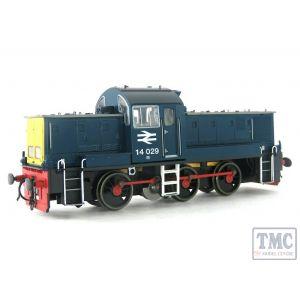 HEL1401 Heljan OO Gauge Class 14 14029 BR Blue (Pre-Owned)