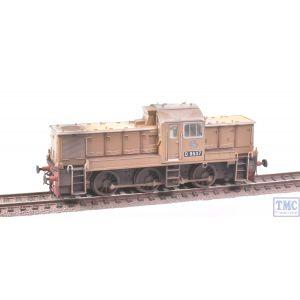 14101 Heljan OO Gauge Class 14 D9537 BR Desert Sand (as preserved) Weathered by TMC