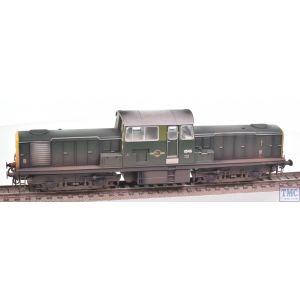 1722 Heljan OO Gauge Class 17 8546 BR green fye