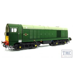 2010 Heljan O Gauge Class 20 BR green with small yellow panels and 4-character headcodes pre-fitted