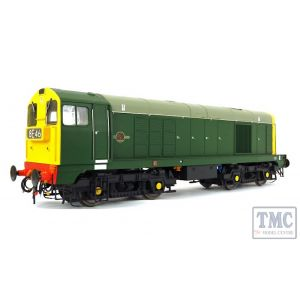 2011 Heljan O Gauge Class 20 BR green with full yellow ends and 4-character headcodes pre-fitted