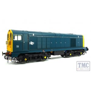 2013 Heljan O Gauge Class 20 BR blue with full yellow ends, TOPS style with double arrows on the bodysides and 'domino' headcodes pre-fitted