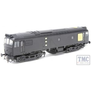 2531 Heljan OO Gauge Class 25/3 D5244 BR Green Small Yellow Panels Weathered