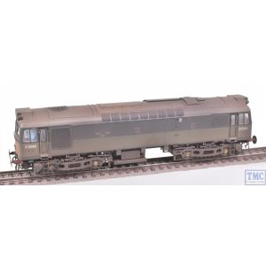 HEL2531 Heljan OO Gauge Class 25/3 D5244 BR 2-Tone Green (SYP) DCC Sound Crew and Weathered by TMC