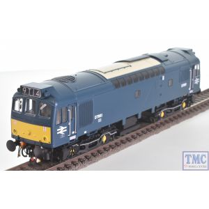 2533 Heljan OO Gauge Class 25/3 BR early blue D7661 with small yellow panels