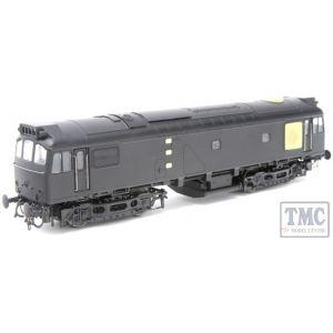 2533 Heljan OO Gauge Class 25/3 D7661 BR Blue Small Yellow Panels