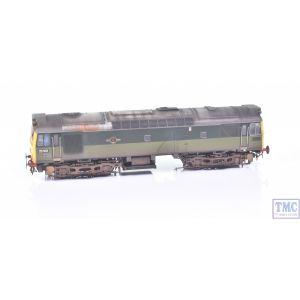 2542 Heljan OO Gauge Class 25 25102 BR Two Tone Green FYE -TMC Ltd Ed- DCC Sound Crew and Deluxe Weathering by TMC