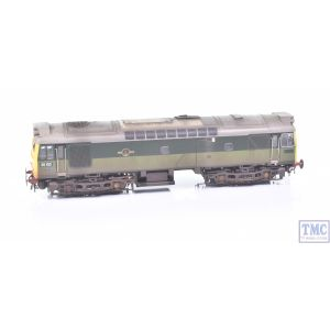 2542 Heljan OO Gauge Class 25 25102 BR Two Tone Green FYE -TMC Ltd Ed- Weathered by TMC