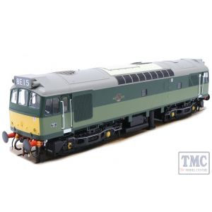 2555 Heljan O Gauge Class 25/3 BR 2-tone green with small yellow panels