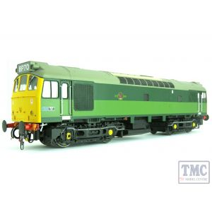 2556 Heljan O Gauge Class 25/3 BR 2-tone green with full yellow ends