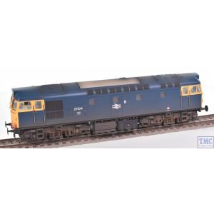 2715 Heljan OO Gauge Class 27 27104 BR blue with full yellow ends